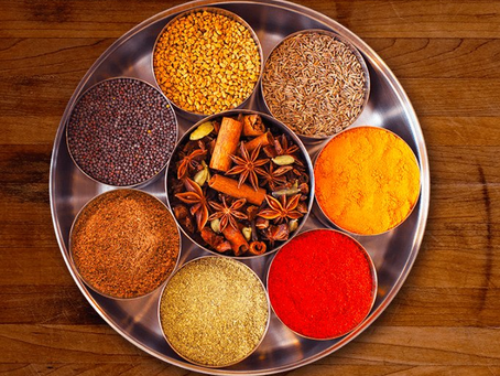 Most used Spices  in cooking.