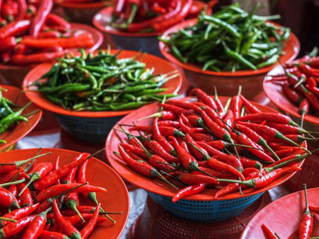 Different types of Indian Chillies and how to use them..!