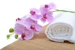 Towel & Flower