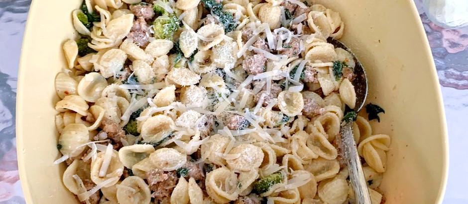Marion's Orecchiette San Bartolomeo de Galdo Style | With Sausage + Broccoli Rabe