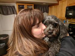 Teddy loves a snuggle