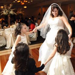 Mara dancing at her wedding