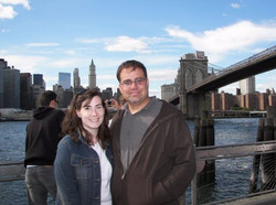 Us at the Brooklyn Bridge