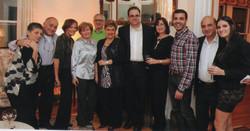 Some of Simon's family
