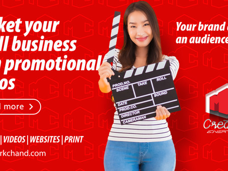 Market your small business with promotional videos
