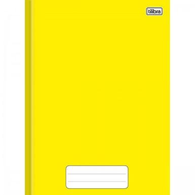 Caderno Brochura Capa Dura Individual