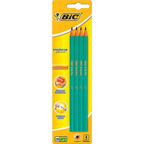Lápis Evolution 4 Unidades - Bic