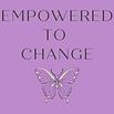 Aesthetic Elegant Minimal Butterfly Logo