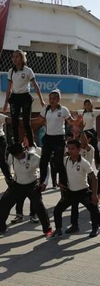Pirámide Humana - Desfile 2018 Tapachula