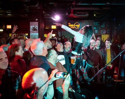 Nancy and the Crowd 100 Club #2