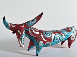 red bull sculpture