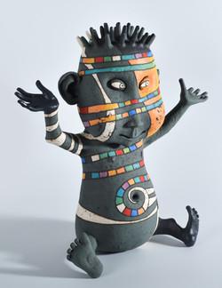newborn sculpture ceramic