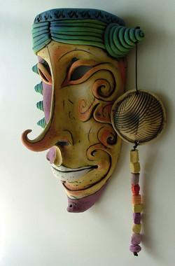 ceramic masks - original ceramic masks - ceramic masks artists - ceramic mask for sale