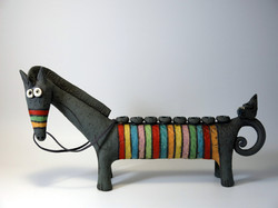 gray horse menorah