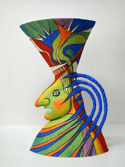 ceramic vase israel