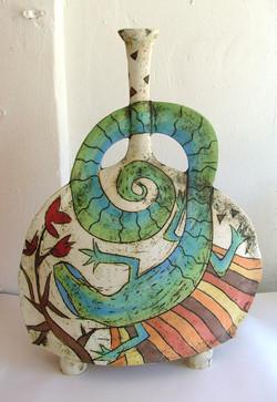green lizard clay