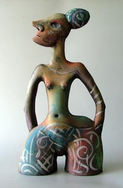 dancing woman sculpture