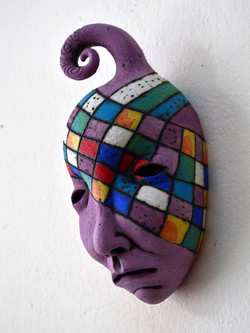 pink face original art
