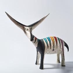 fantasy deer sculpture