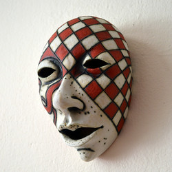 red and white mask to buy