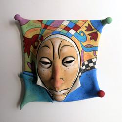 unique ceramic mask
