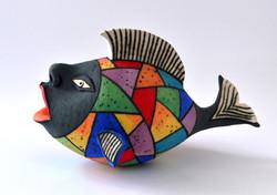 gold fish ceramic
