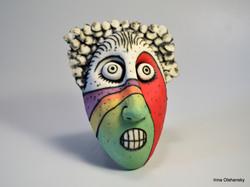 hand made ceramic mask