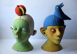 kids sculpture clay