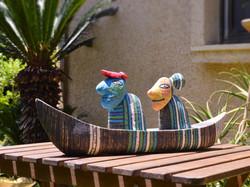 canoe ceramic