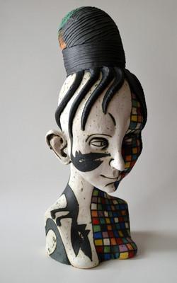 girl ceramic unique