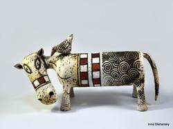 ceramic hippo figurine