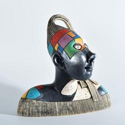 female bust clay