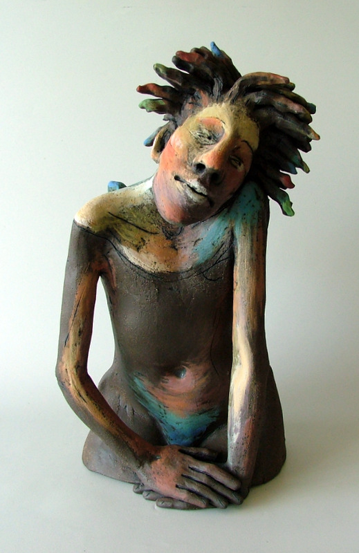 dreaming angel clay