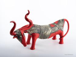 red bull ceramic sculpture, original gift for him