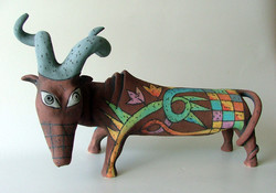 bull ceramic