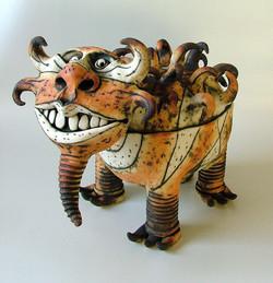 ceramic creature
