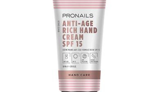 Anti-Age Hand Cream Rich SPF 15 - 50 ml