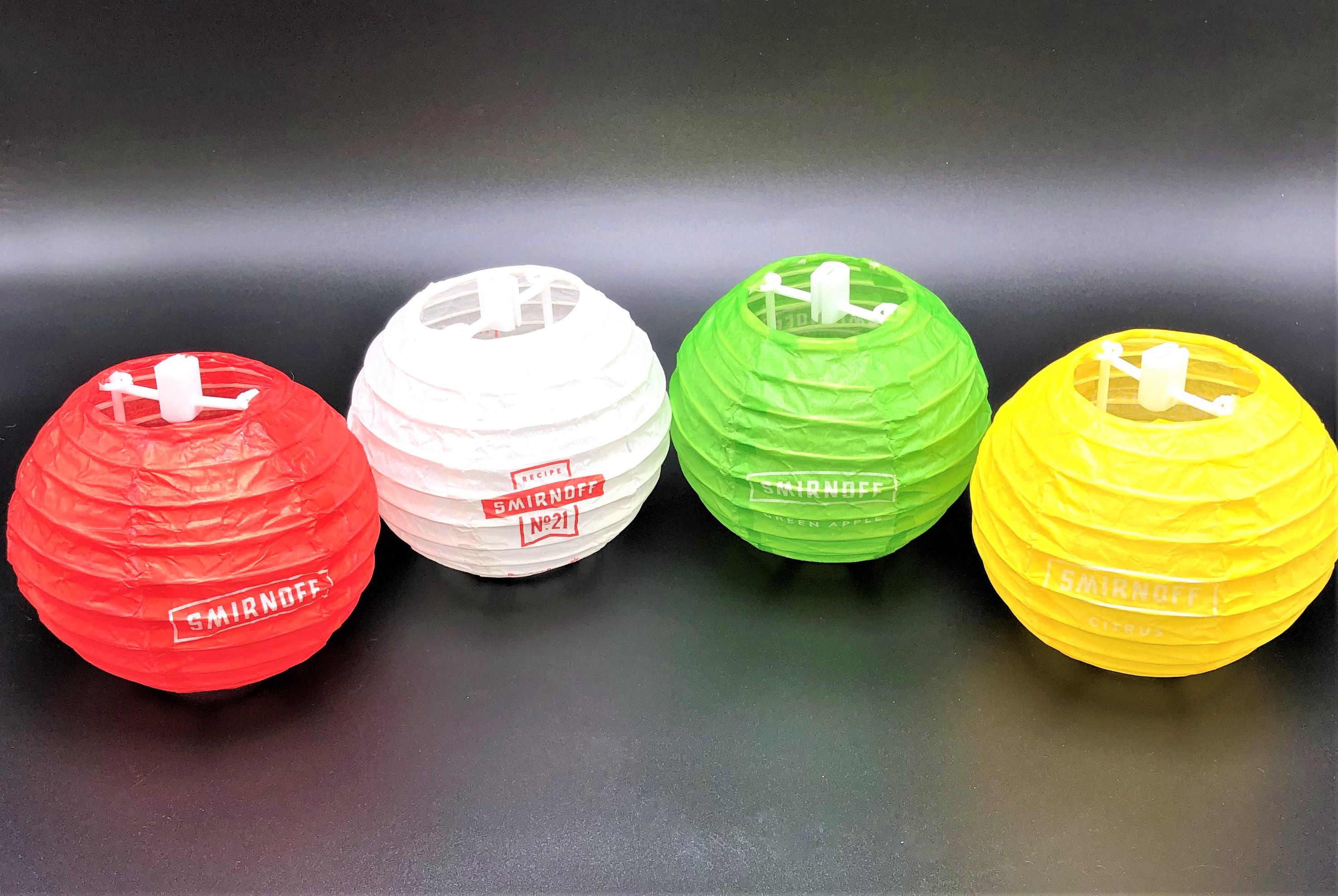 String Light- Paper Lantern (Smirnoff)