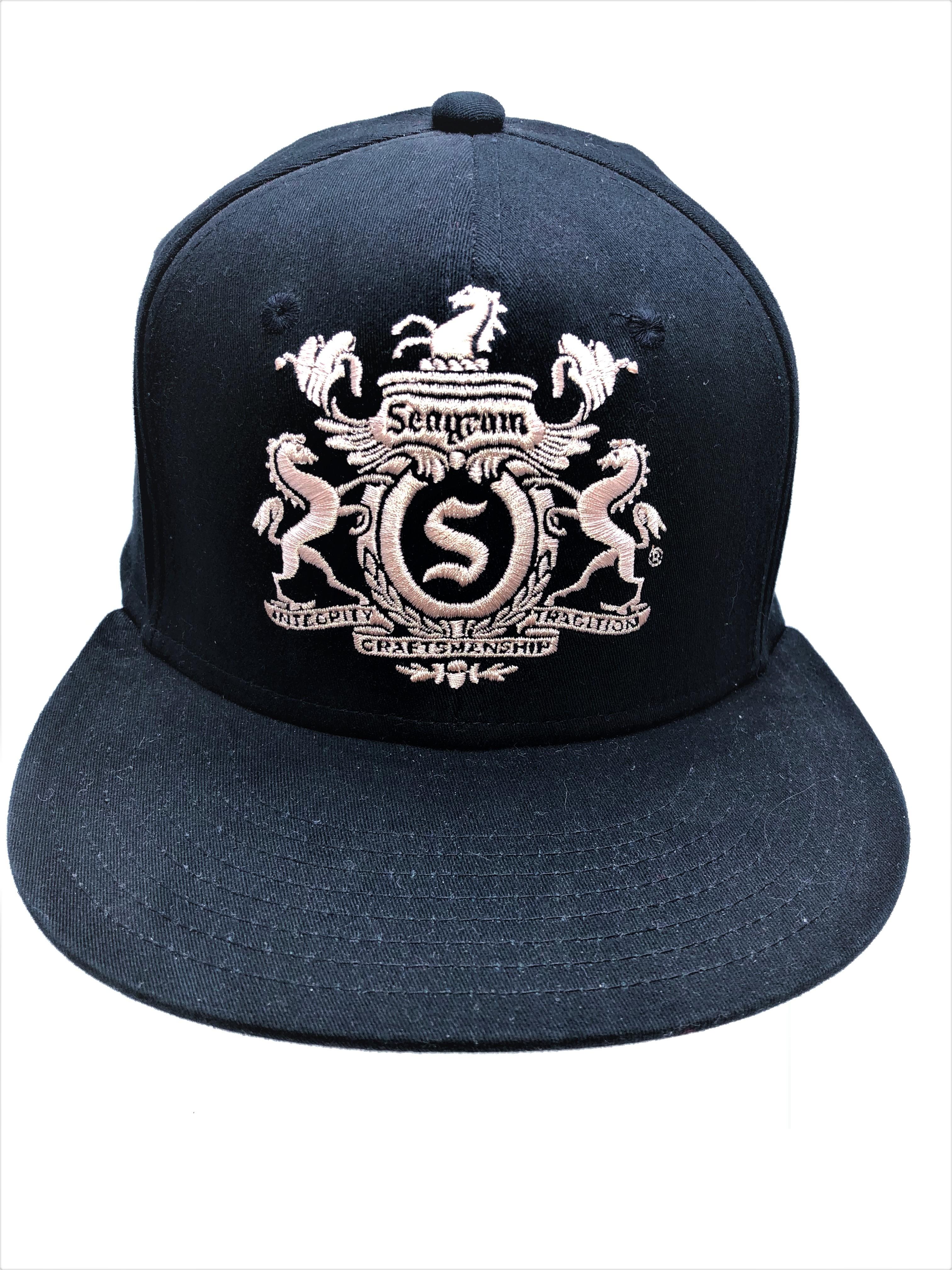 Hat-Flat Brim (Seagrams)-Front