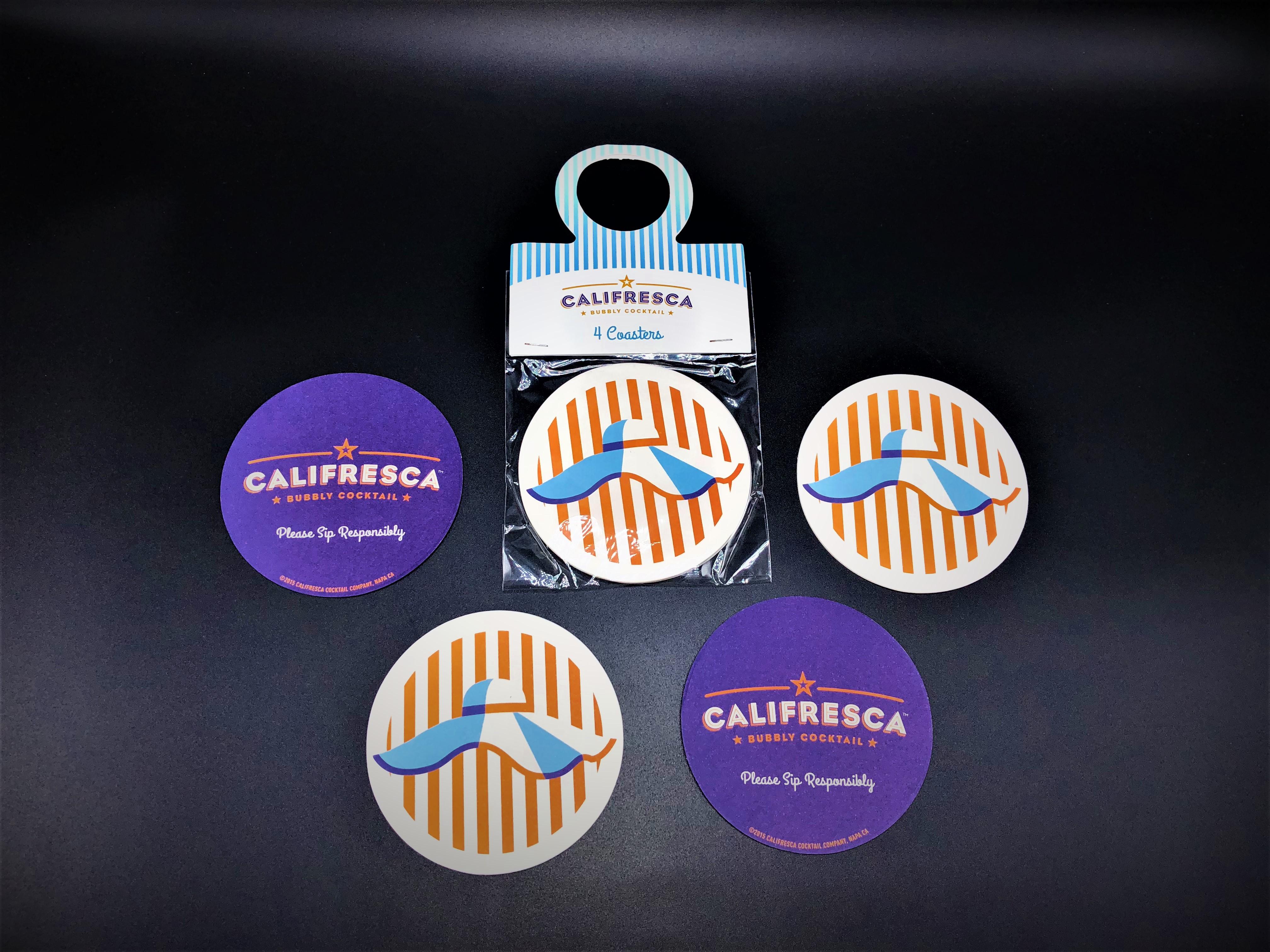 Coaster + Bottle Hanger (Califresca)