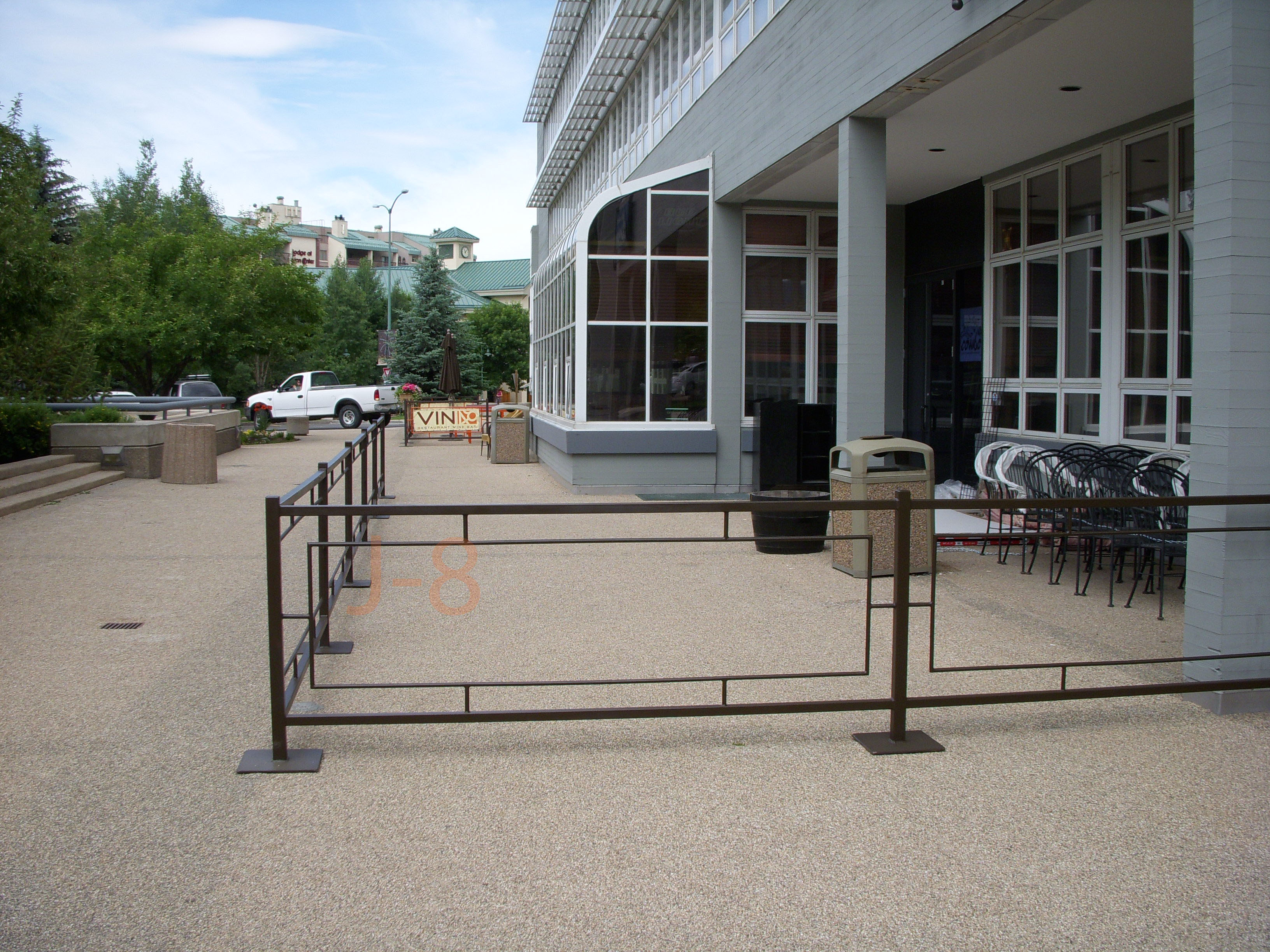 Moveable Railing