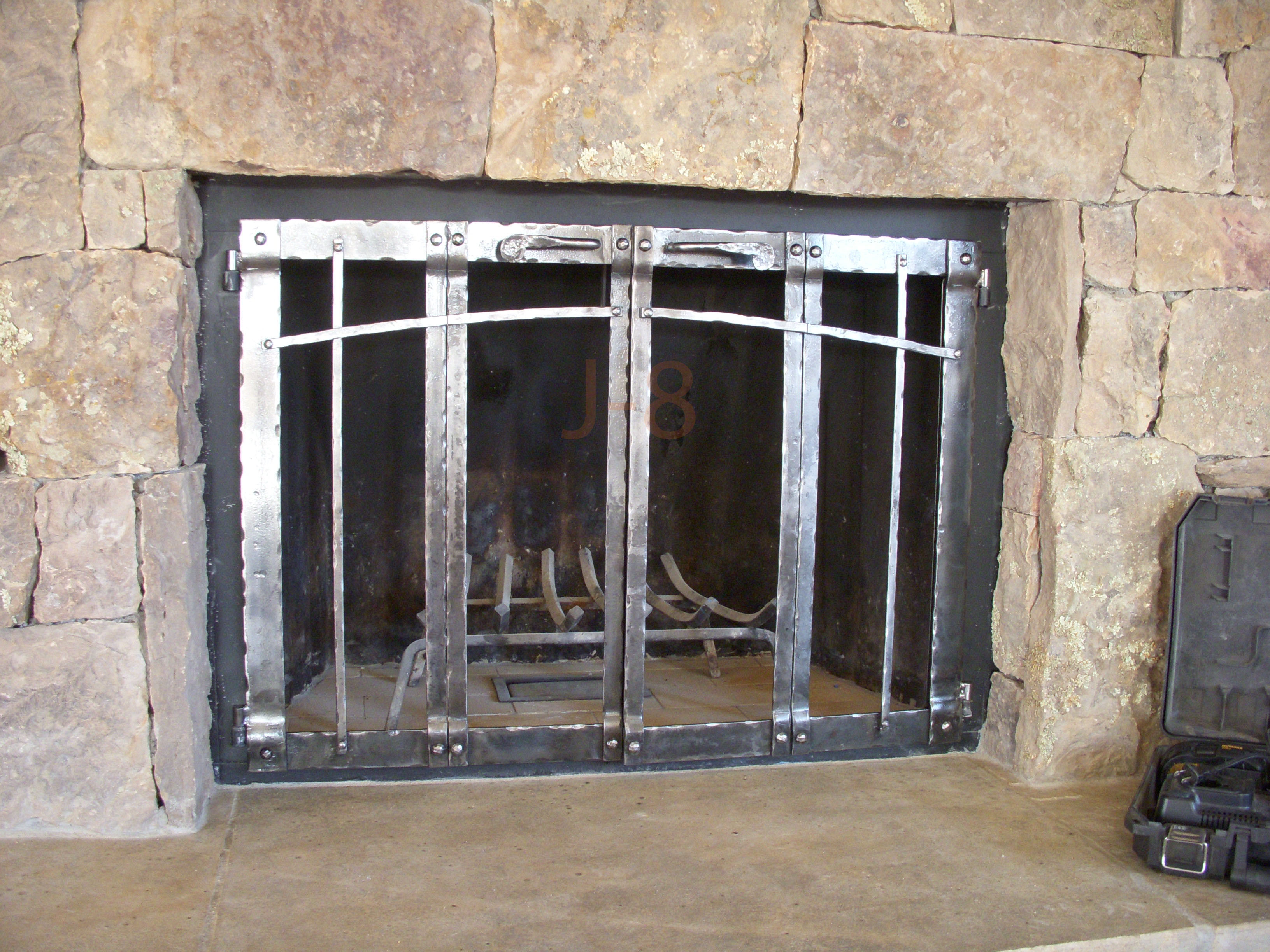 Bifold Fireplace Doors