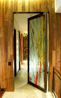 Interior Pivot Door