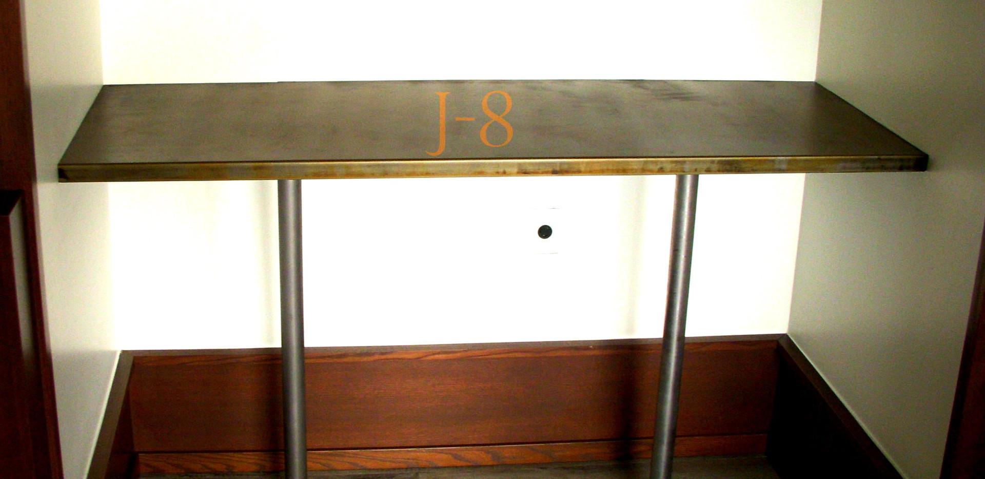 Full Steel Tall Table