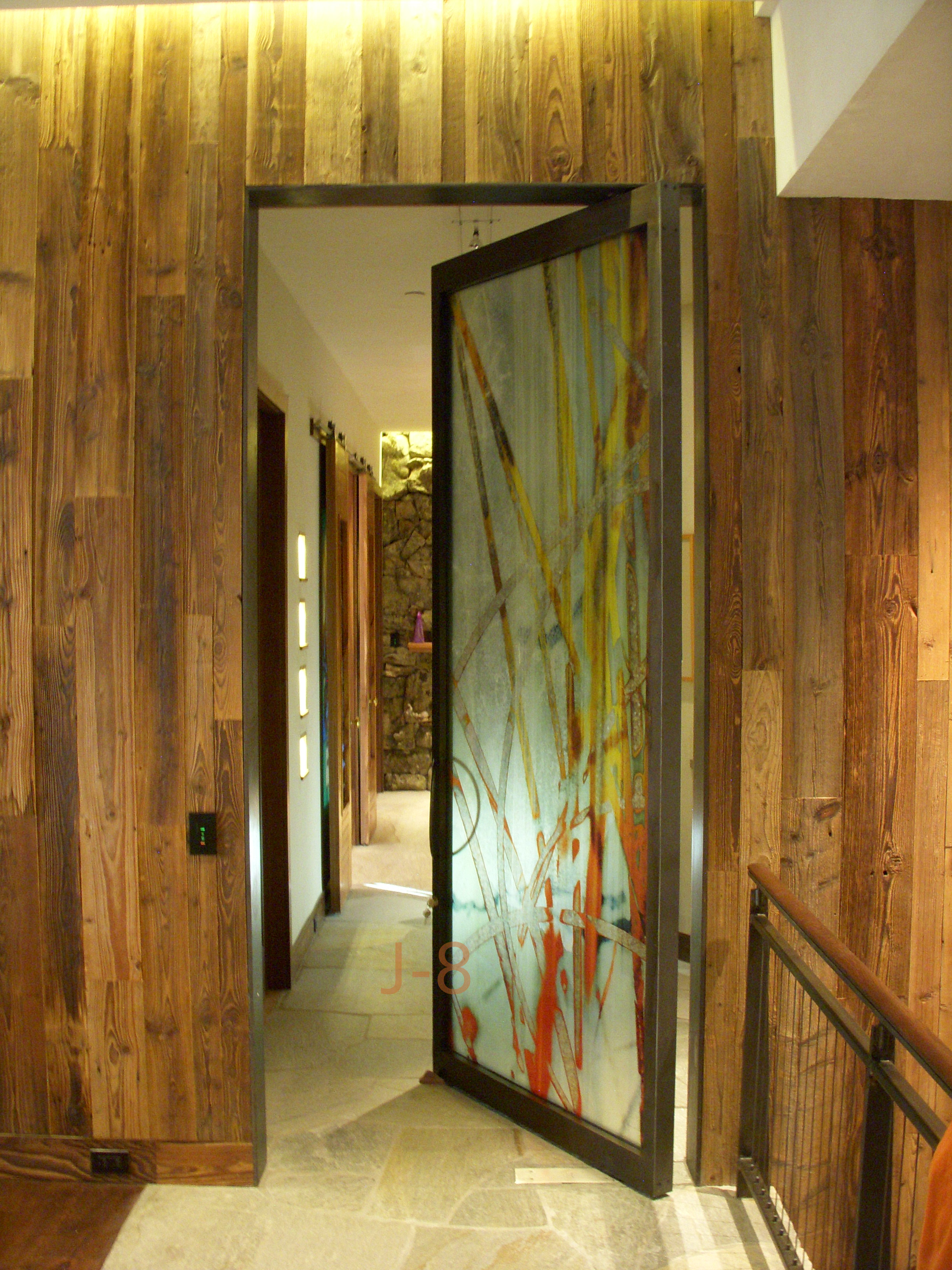 Interior Pivot Door