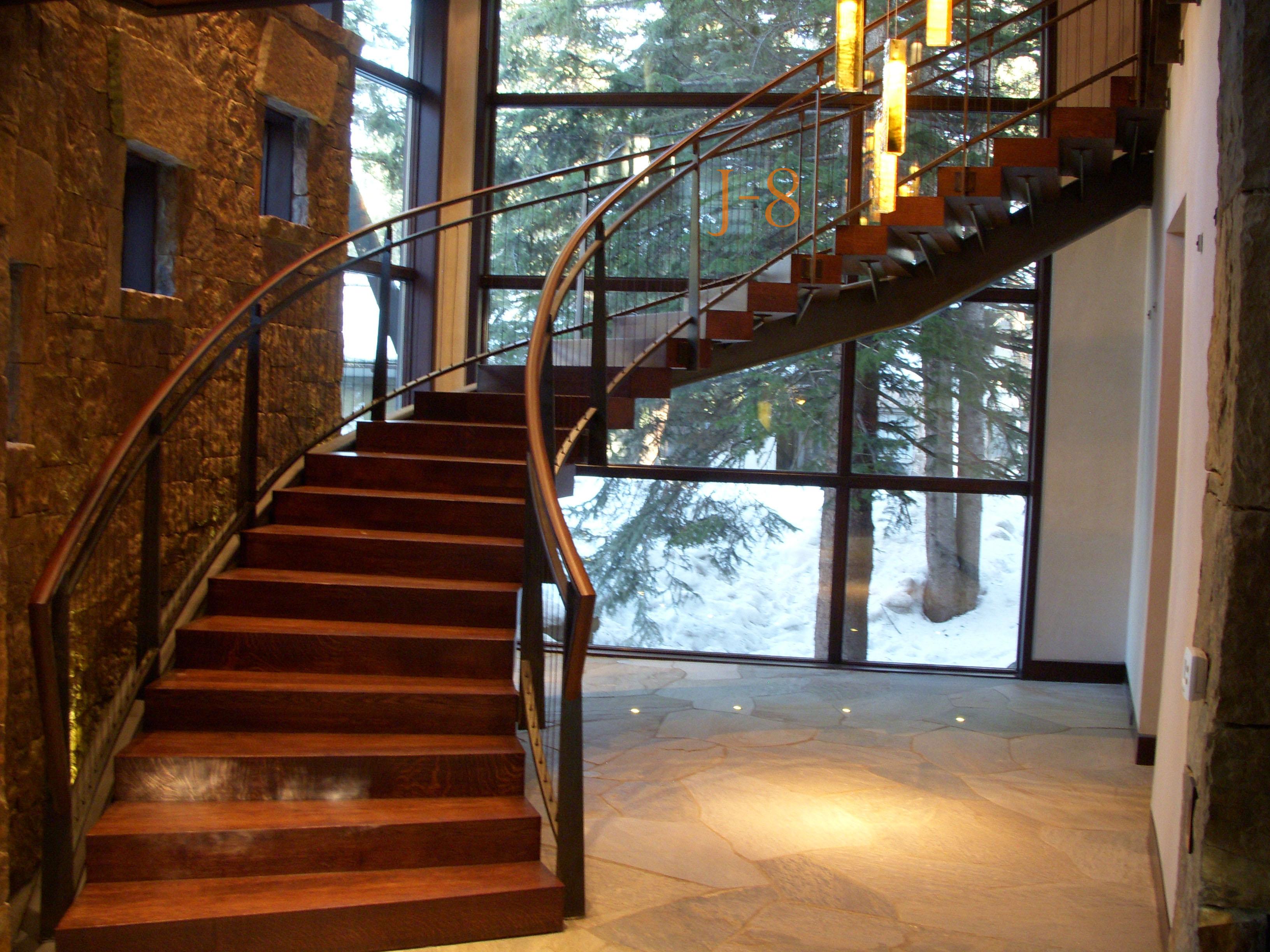 Spiral Stair Railing pt.1