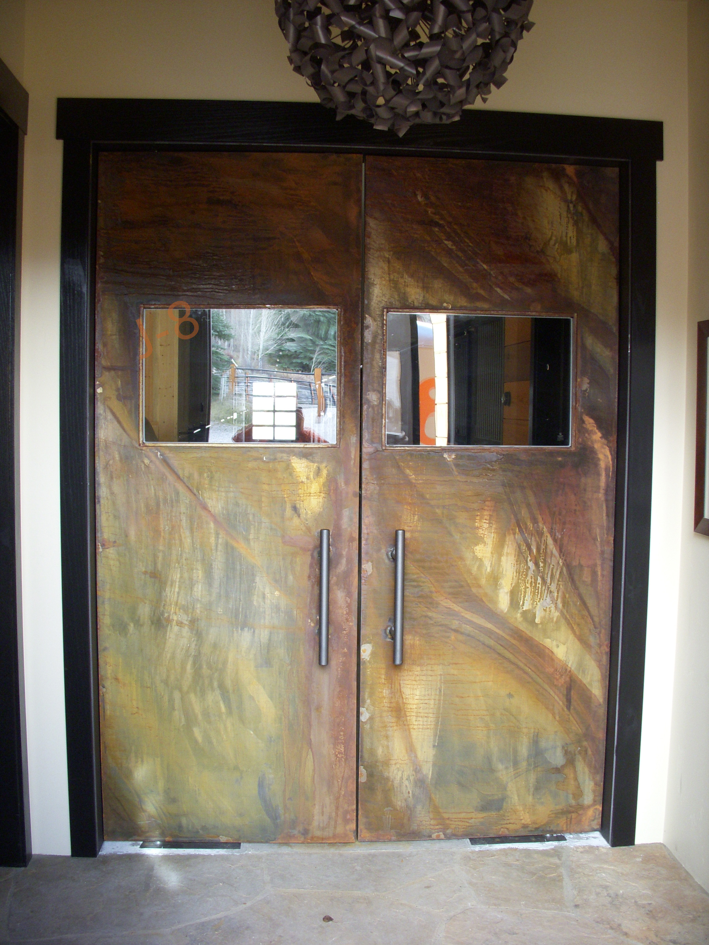 Double Pivot Doors