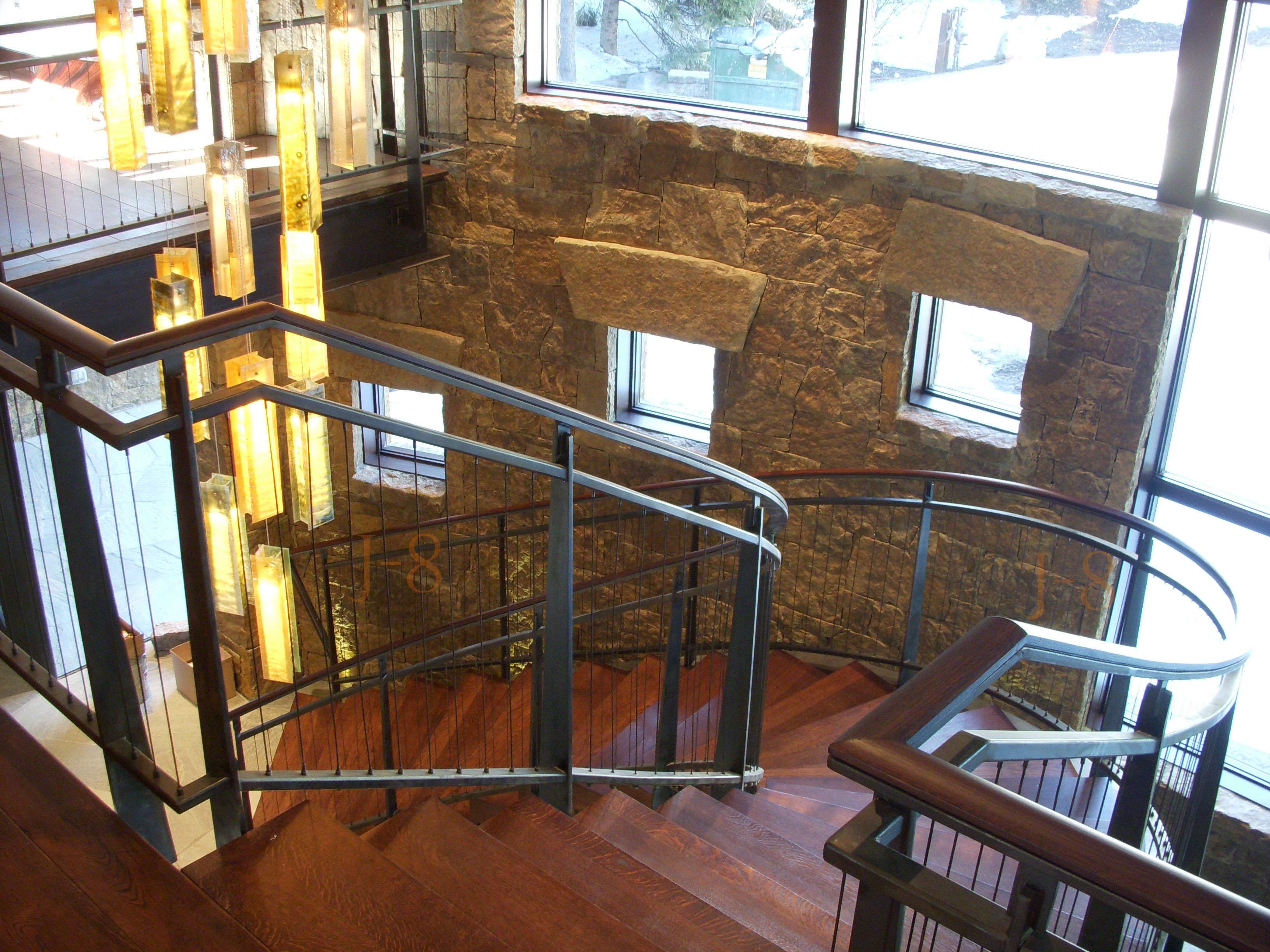 Spiral Stair Railing pt.3