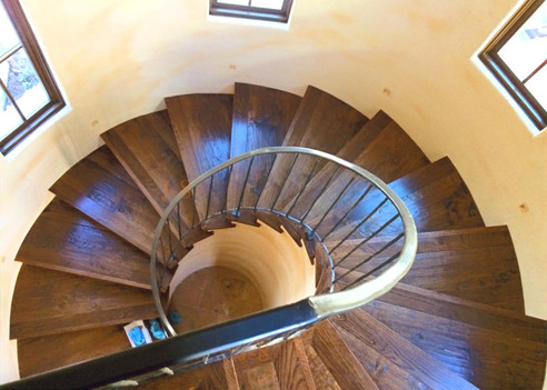 Spiral Stair Case & Railing
