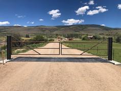 Steel Entrance Gate